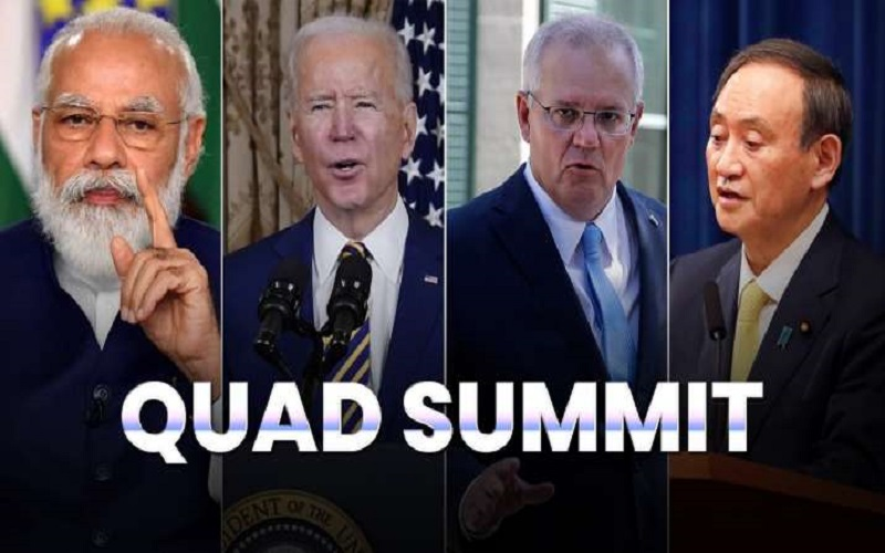 The First-Ever Quad Leadership Summit Confirmed The Bloc